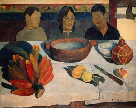 Le repas. Il pasto-1891