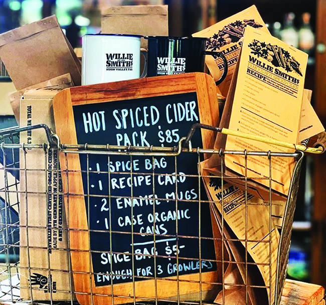 Willie Smith's Hot Spiced Cider