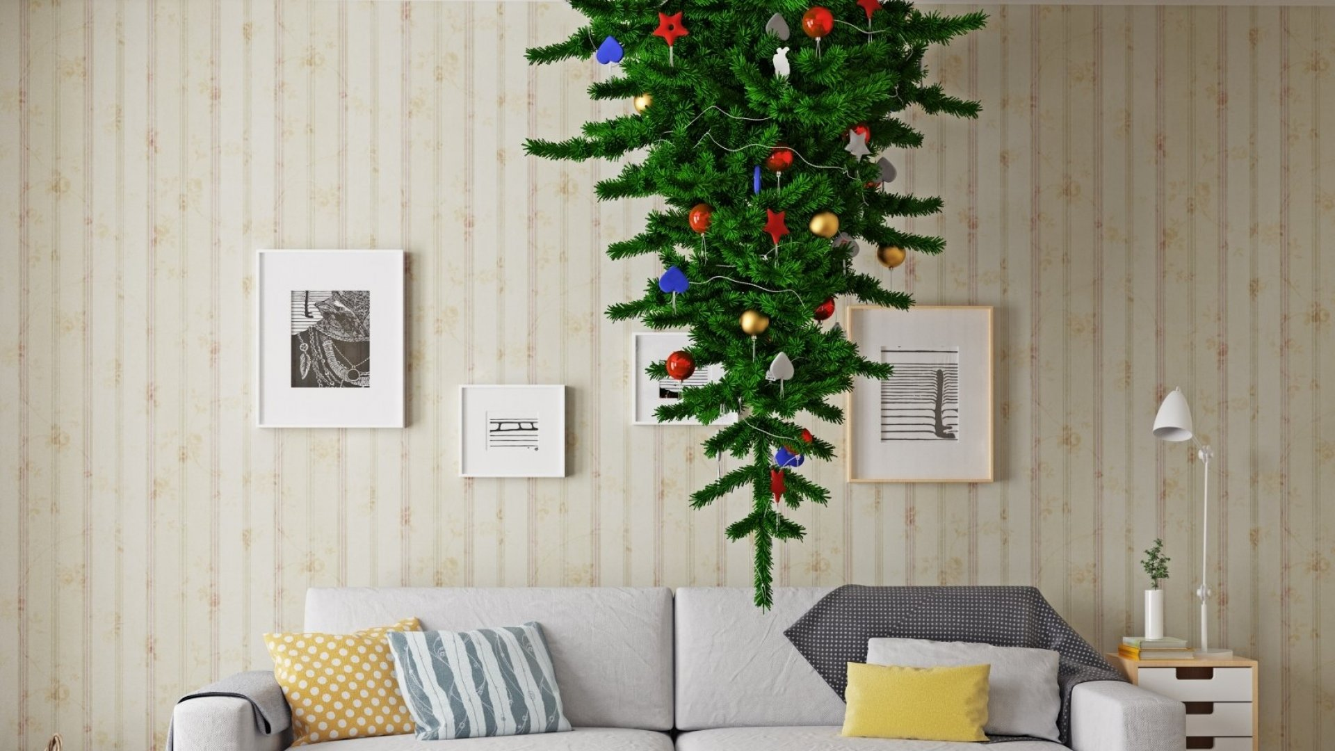 Upside Down Christmas Trees Are Ridiculous Here S Why You Might Want One Anyway Inc Com