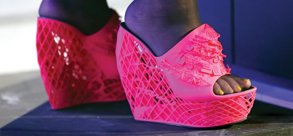 Walk a Mile in Her 3DPrinted Shoes  Inccom