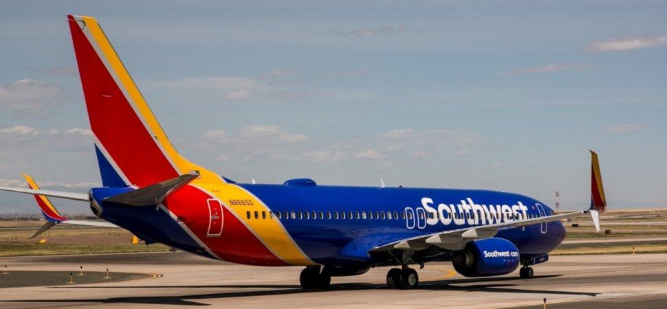 a southwest passenger took