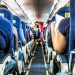 The Fascinating Science Behind Why Most Airplane Seats are a Cool, Conservative Blue