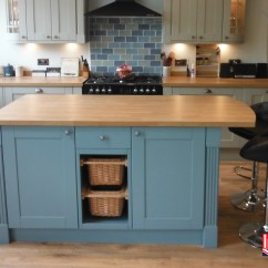 Painted Kitchen Islands Shelves Ideas Bespoke Custom Made Fitted Kitchens Incite Derby