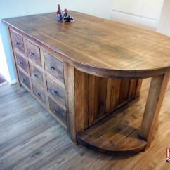 Handmade Kitchen Islands What Is The Best Faucet Bespoke Island Custom Made For You By Incite Derby Plank Pine Curved