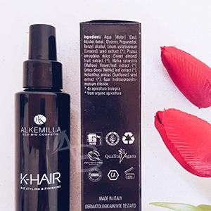Formulazione termoprotettore K-Hair di Alkemilla