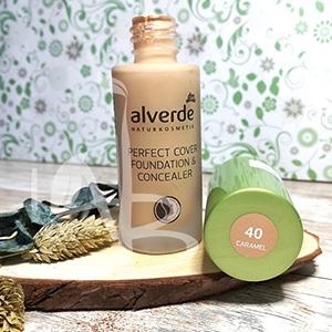 Perfect cover foundation&concealer 40 Caramel Alverde