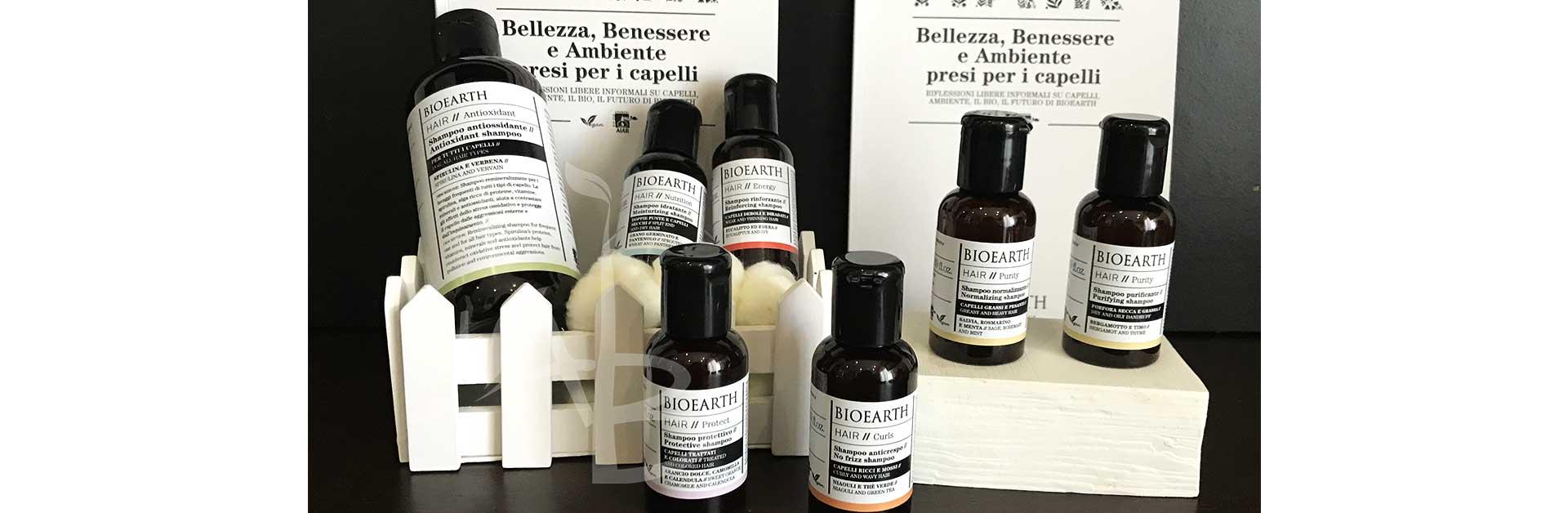 Linea di shampoo Hair 2.0 di Bioaerth