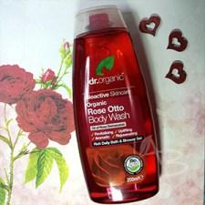 Bagnoschiuma alla rosa Dr. Organic