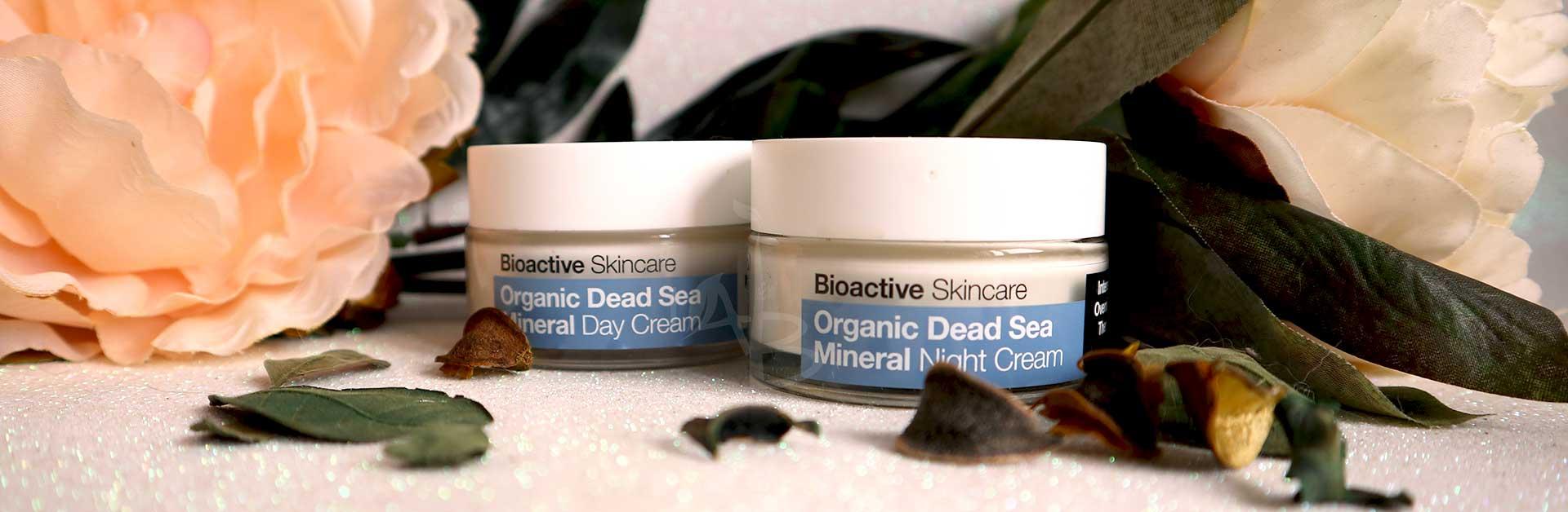 Creme viso organic dead sea Dr. Organic