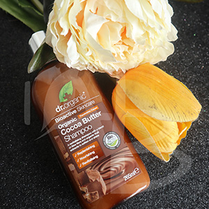 Shampoo al burro di cacao Dr. Organic