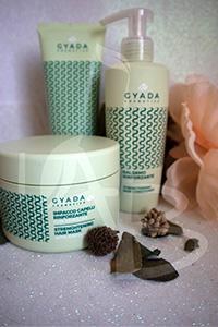 Prodotti rinforzanti per capelli con spirulina Gyada