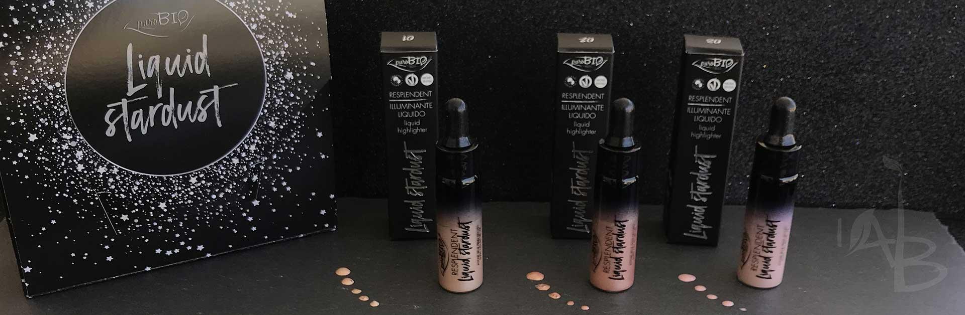 Illuminanti Liquid Stardust di Purobio Cosmetics