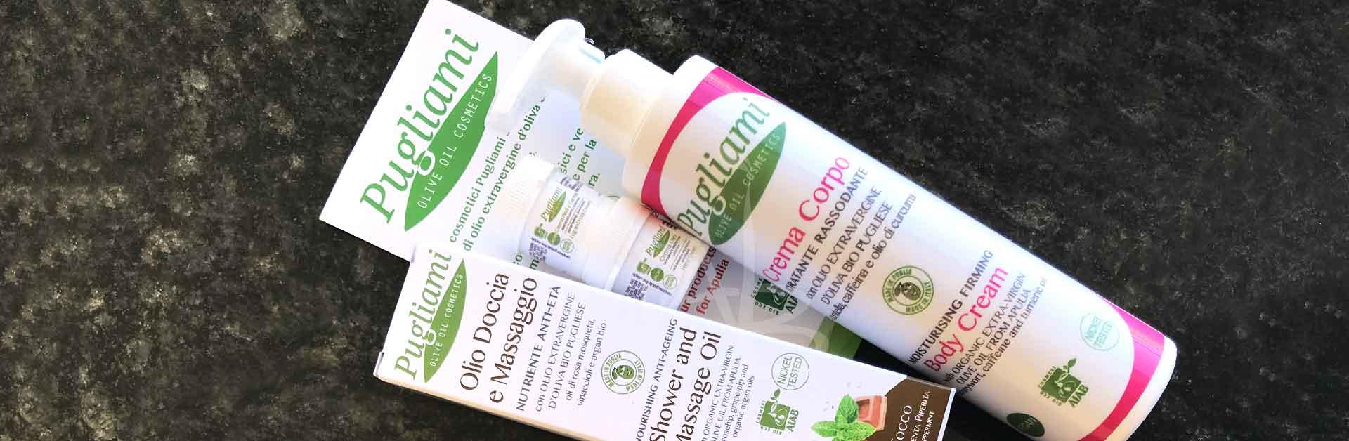 Crema corpo e olio da massaggio di Pugliami