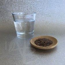 Ingredienti base per il gel di semi di lino