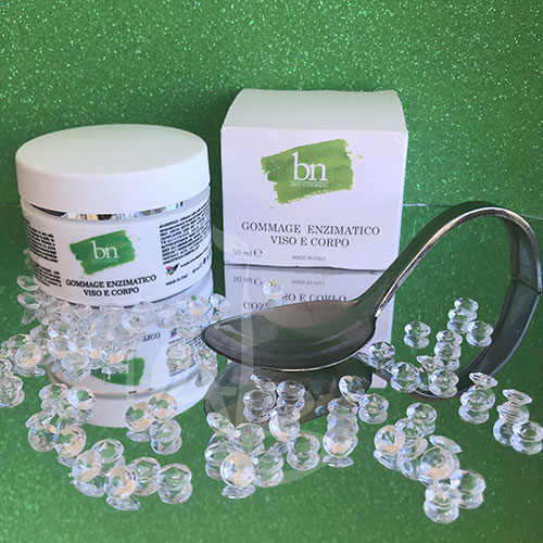 Packaging del gommage enzimatico di BN Bio Cosmesi