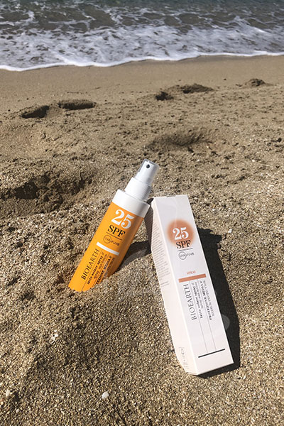 Pack primario e secondario del Latte solare spray Bioearth