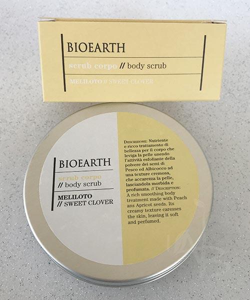 Packaging primario scrub corpo Bioearth