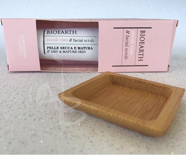Packaging secondario dello scrub viso pelle secca Bioearth