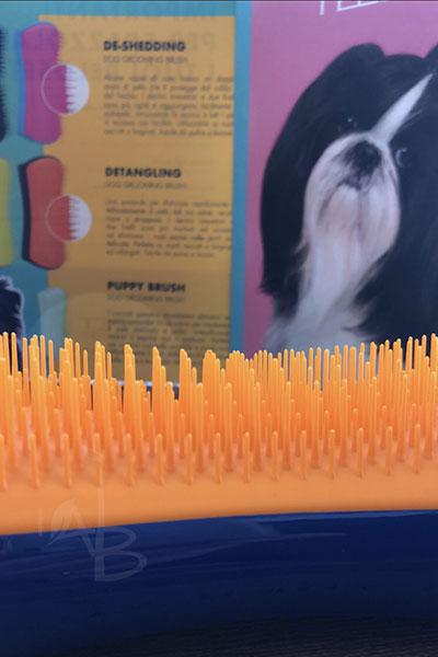 Dettaglio dentini Detangling Pet Teezer