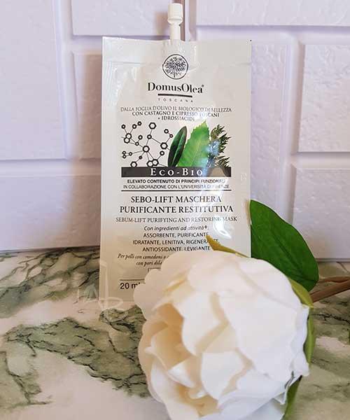 Sebo-Lift maschera purificante restitutiva Domus Olea Toscana