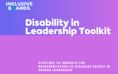 Disability in Leadership Toolkit Launch