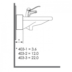 Washbasin Lift Bracket