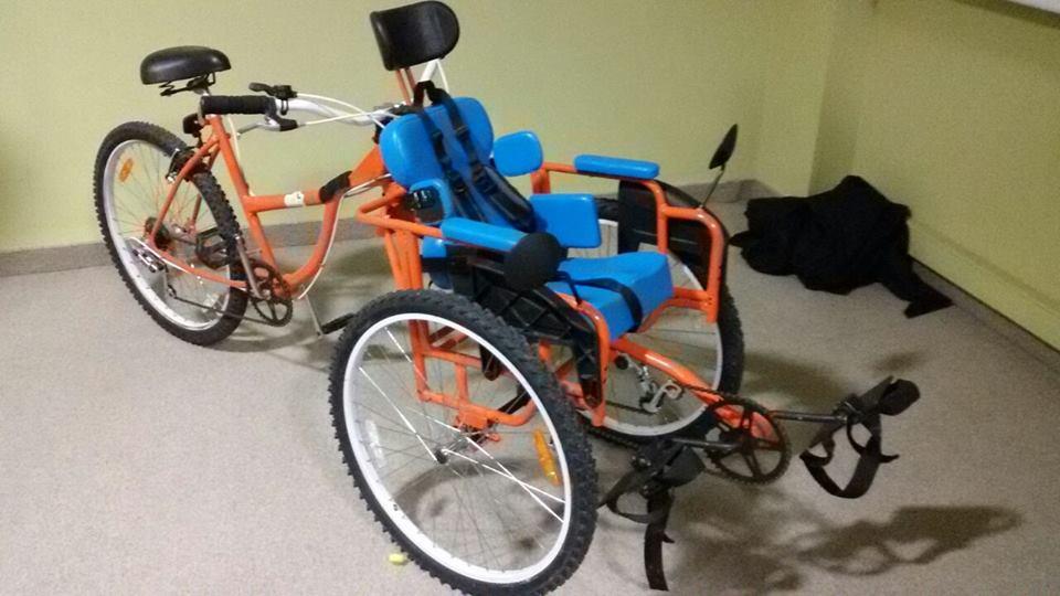 Ernibike Una bicicleta diseada para transportar y