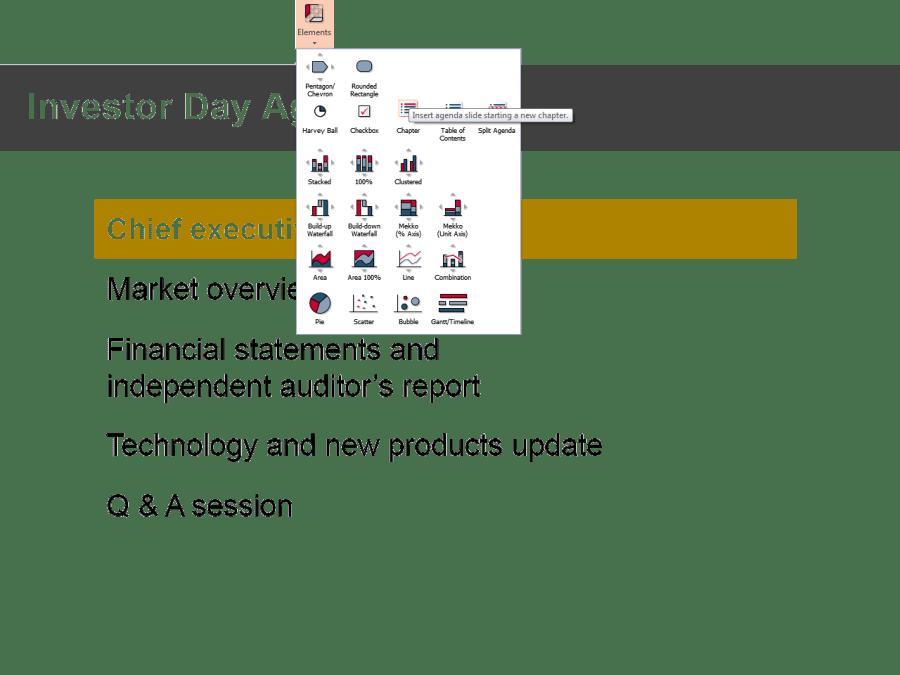 Gráficas faciles en powerpoint con Think cell