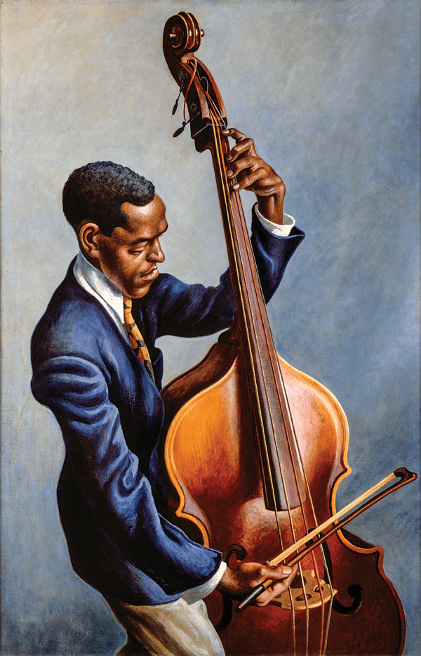 Thomas Hart Benton Portrait of a Musician