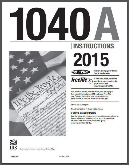 1040 Tax Tables 2015 Page 89