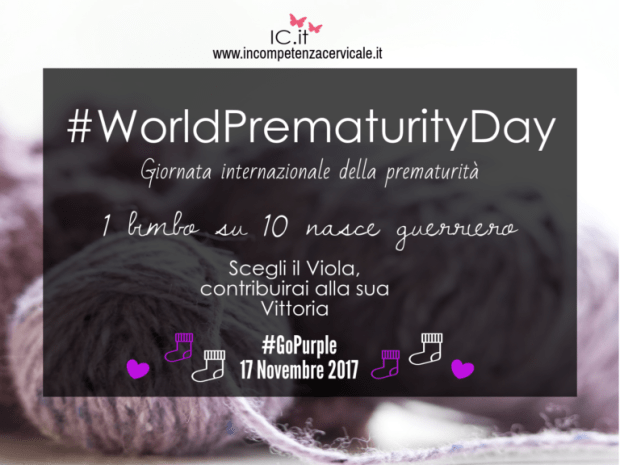world prematurity day Prematurità Incompetenza cervicale