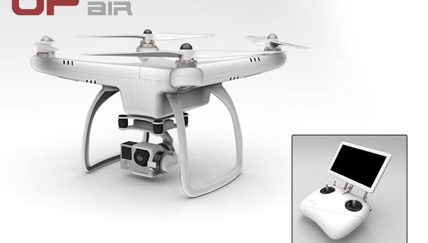 UP Air UPair-Chase Quadcopter – First Look