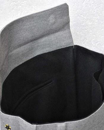 Black felt lining - InconnuLAB