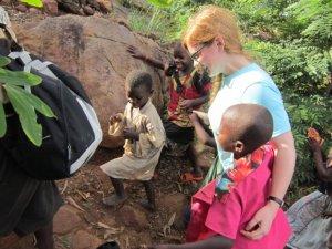 Sara stagista di Incontro fra i Popoli in Congo