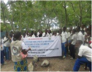 Concorso d'arte tra i giovani, per la pace e la non violenza in Congo