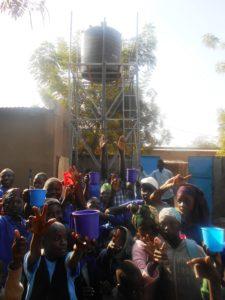 Pozzo nella scuola per sordomuti nella città di Moundou - Ciad