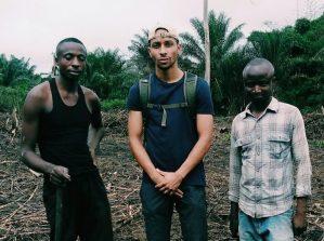 Michel Seto stagista di Incontro fra i Popoli in Congo
