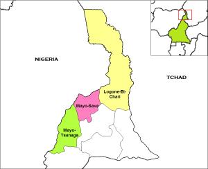 Dipartimenti regione Estremo Nord del Camerun
