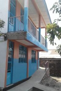 Esterno del centro di formazione professionale in edilizia in RD Congo