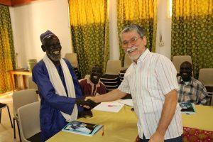 Rebellato Leopoldo con i Grandi Tecnici Animatori del Camerun