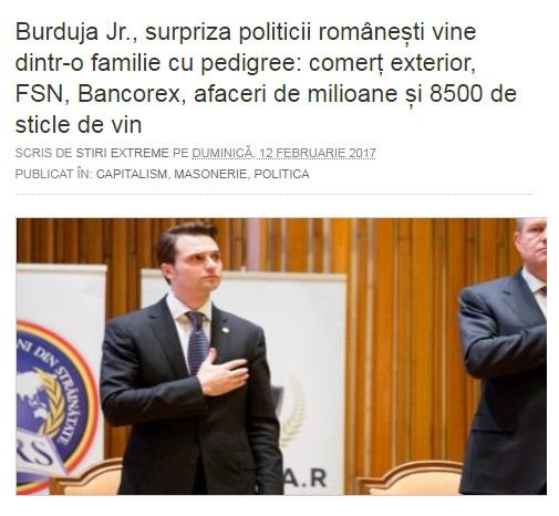 Sebastian Burduja, o Altă Pleașca Globalistă