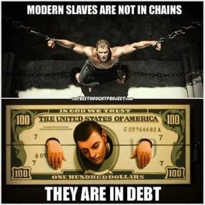Bancherii și Sclavia Modernă