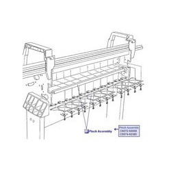 C6074-60385 Pinch Assembly traceur HP Designjet 1050C/C+