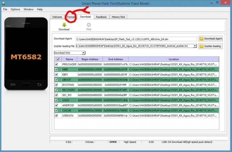 How to Install Stock Rom in QMobile Noir i5