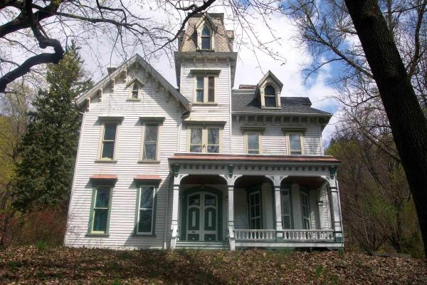 Old Haunted Victorian House