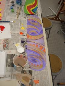 Art Lesson Designing Skateboard Deck Graphics