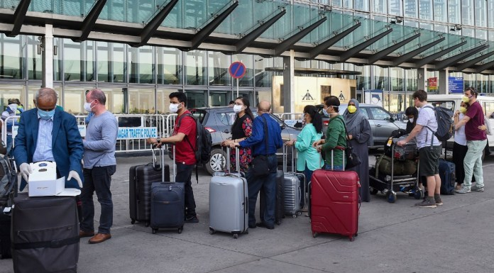 British Tourists Stranded in Goa