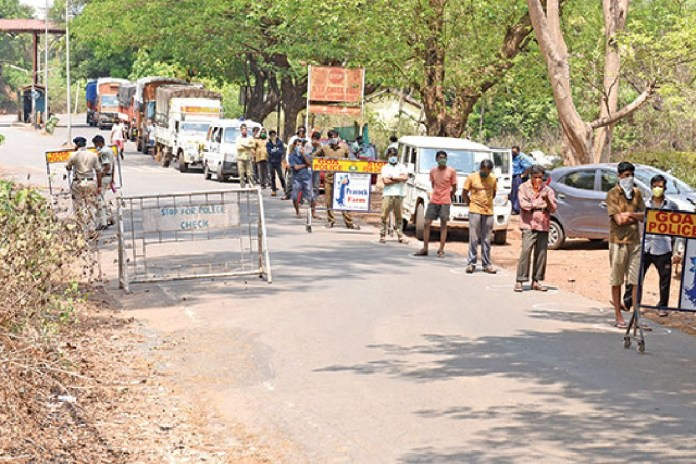 Goa Border Sealed