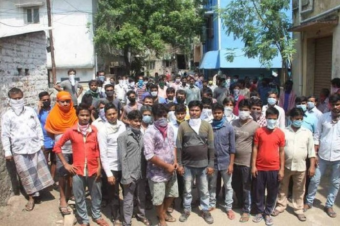 80 thousand Migrant Labourers register to leave Goa