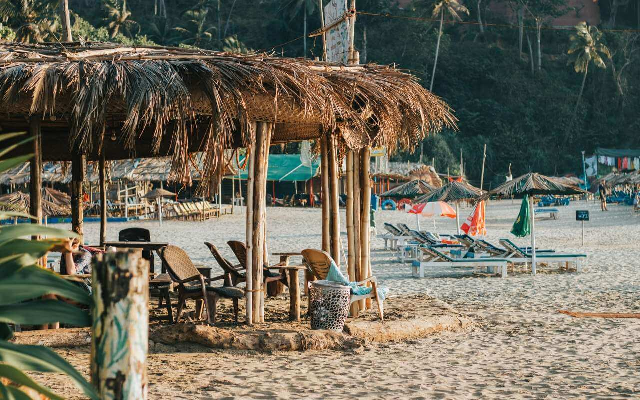 Shacks in Goa
